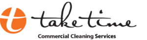 take time commercial cleaning logo